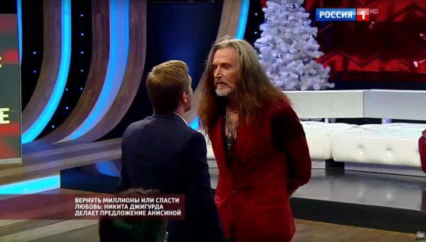 Никита Джигурда устроил скандал в прямом эфире программы с Борисом Корчевником
