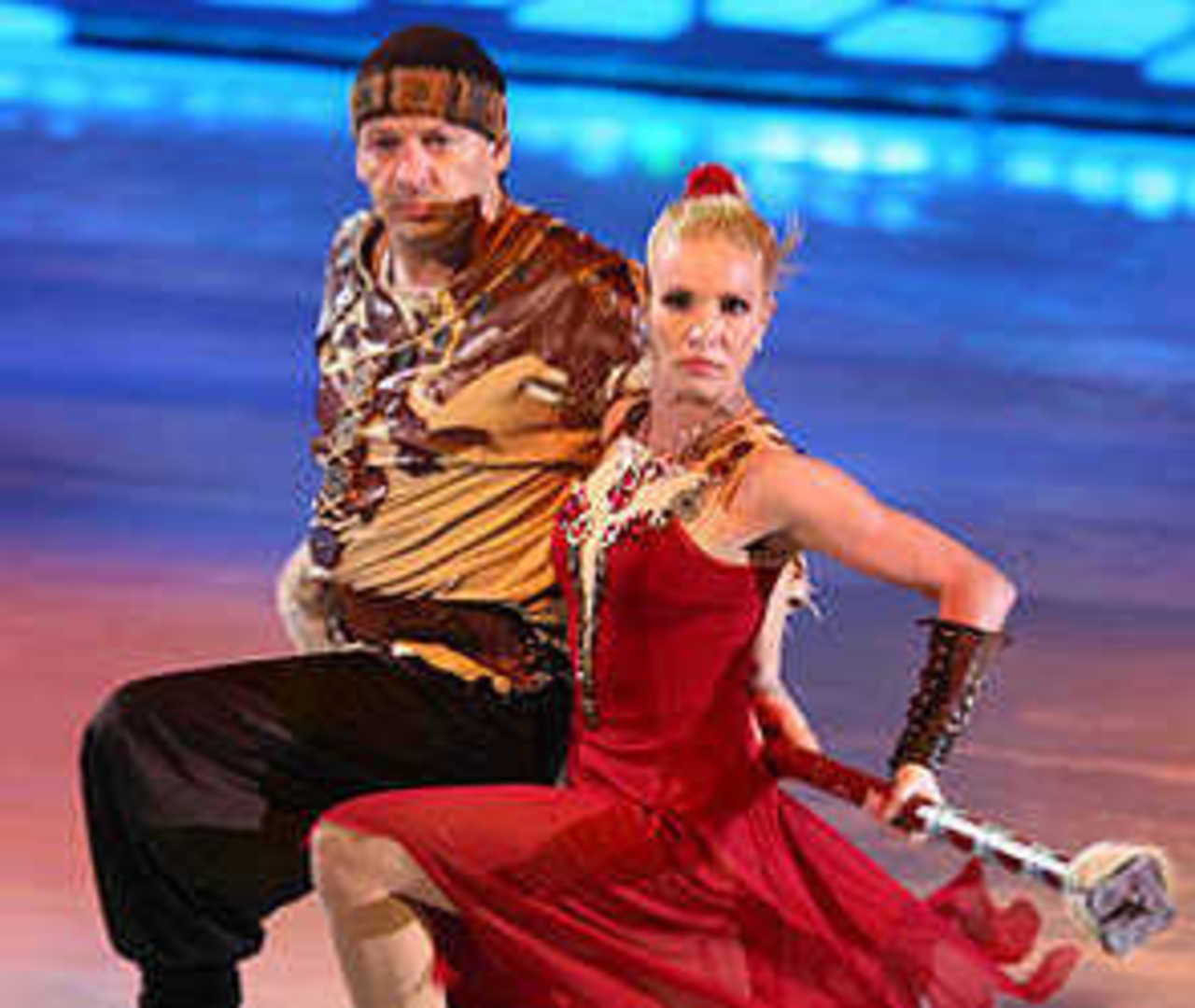 Ирина Лобачева и Дмитрий Марьянов