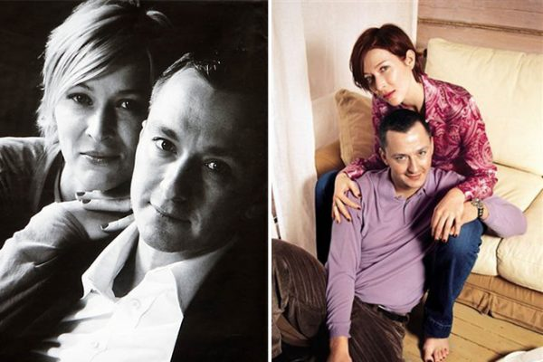 Стпепан с первой женой Аллой Сиваковой