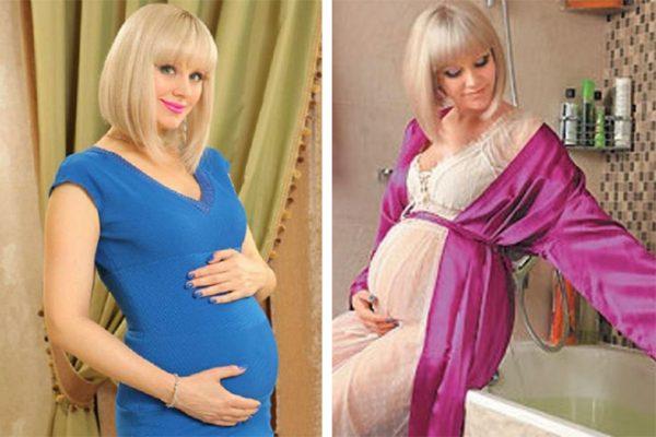 Натали родила третьего ребенка