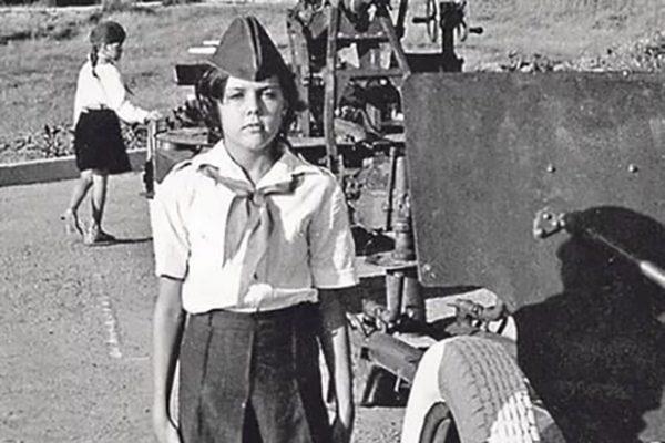 Ольга Шелест в школьные годы