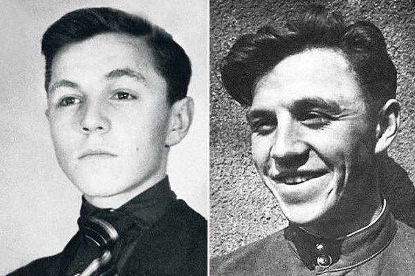 Михаил Ульянов в молодости