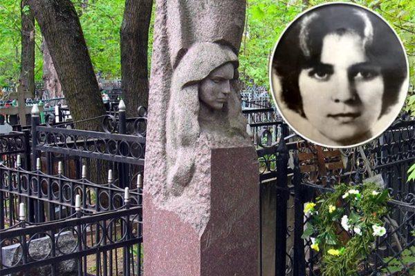 Могилан погибшей дочери Армена Джигарханяна
