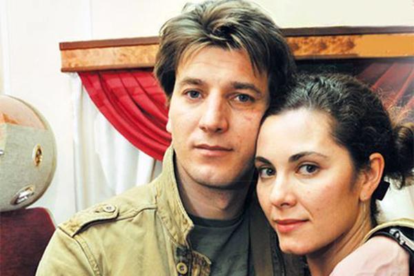 С бывшим мужем Александром Устюговым