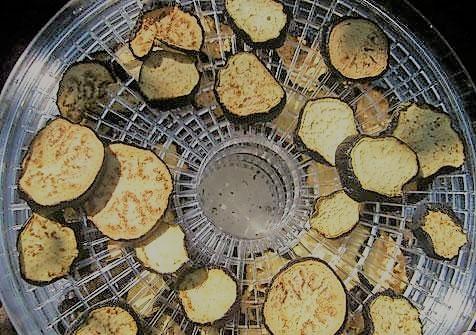 Сушим баклажаны в духовке