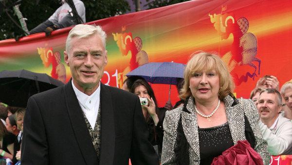 Борис Щербаков и его жена Наталья Бронзова