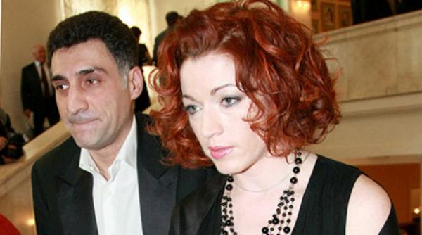 Т. Кеосаян и Алена Хмельницкая (первая жена)