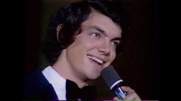 Сергей Захаров во время чвоего выступления в