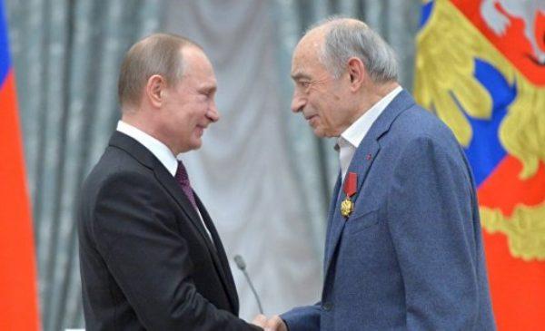 Валентин Гафт и Владимир Путин