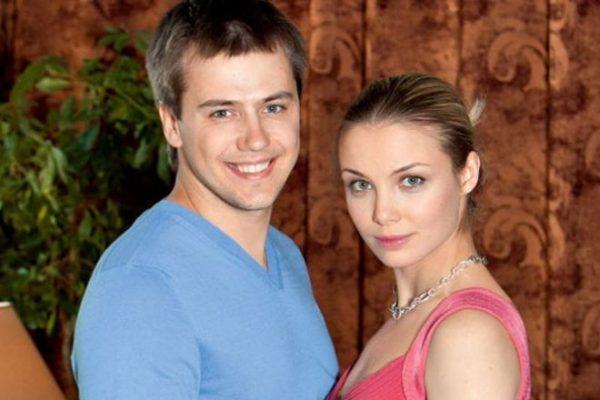 Актер с бывшей женой Татьяной Арнтгольц