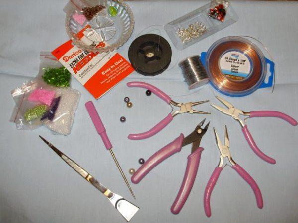 Инструменты для плетения из бисера