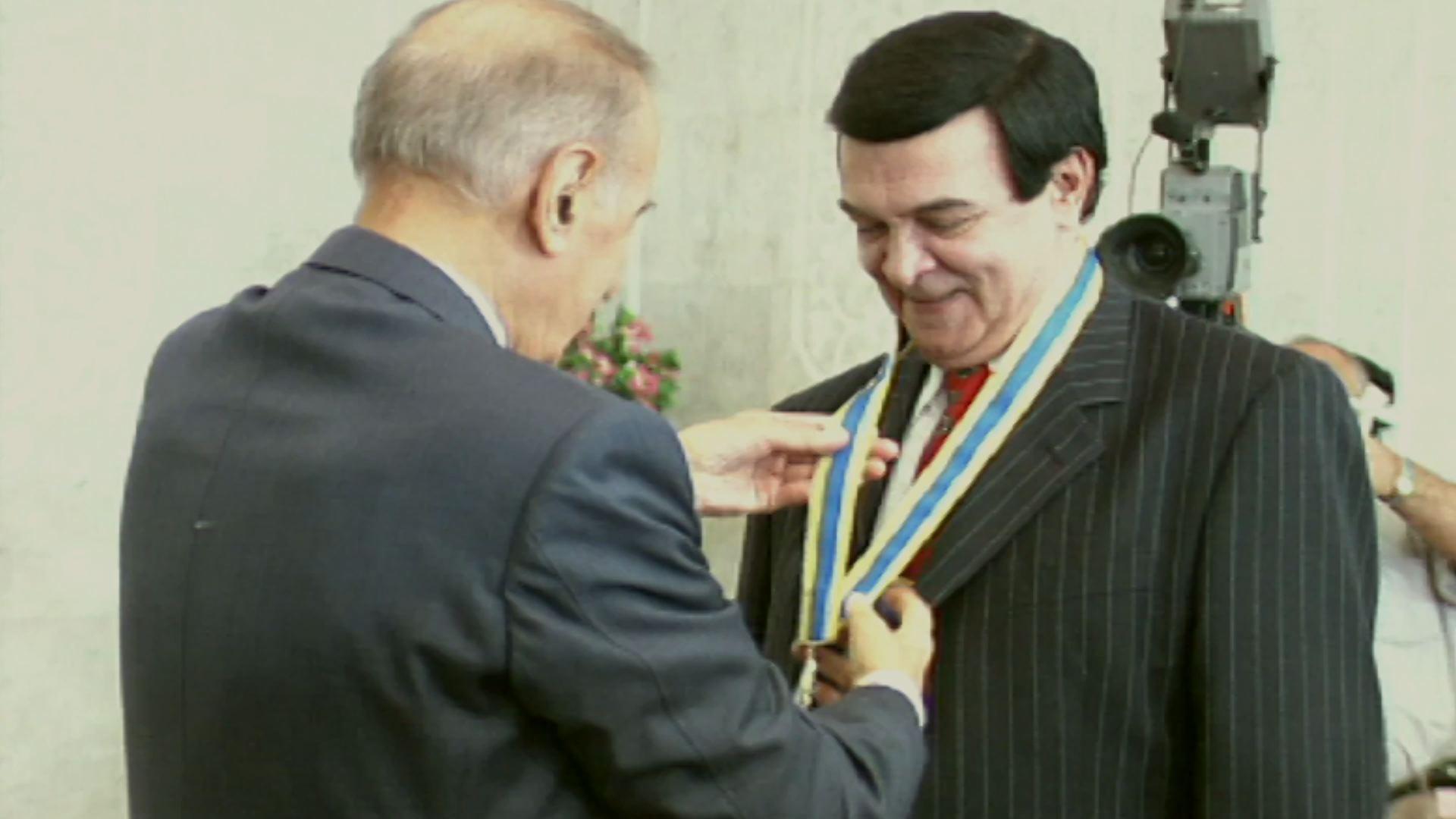 Награды сыпались на Мслима Магомаева постоянно