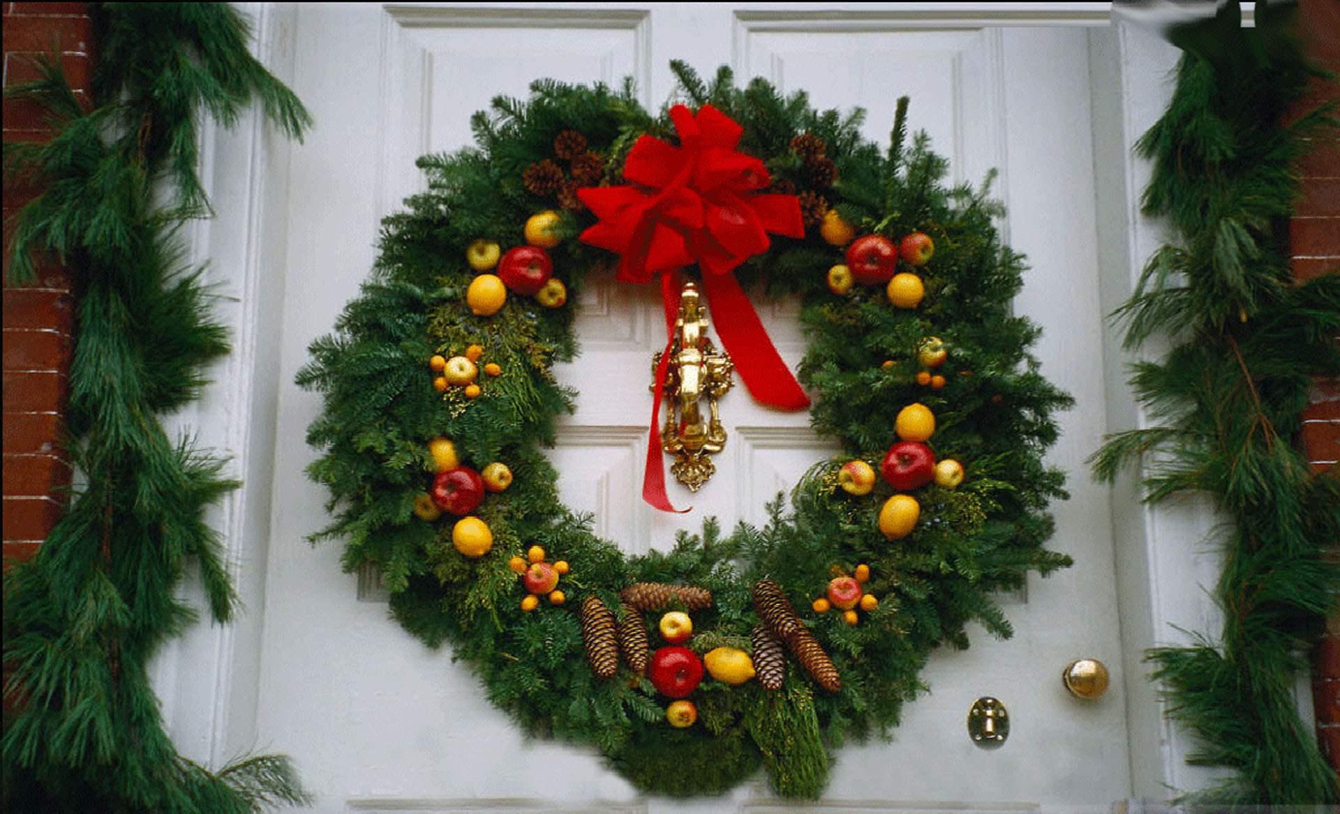 Рождественский венок в Европе