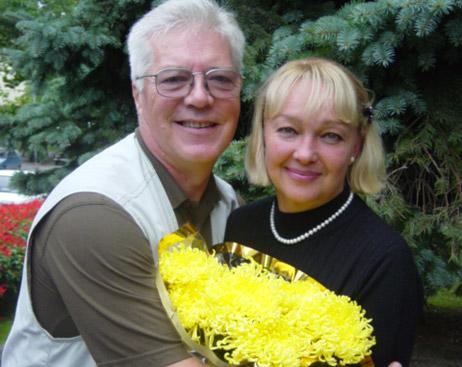 Наталья с мужем Евгением Жариковым