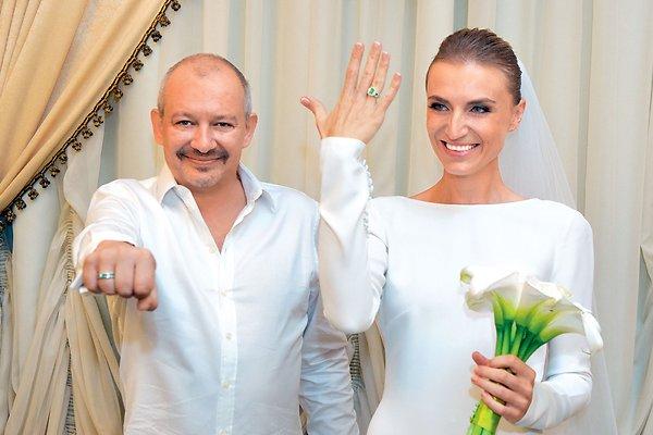 Фото со свадьбы Дмитрия Марьянова и Ксении Бик
