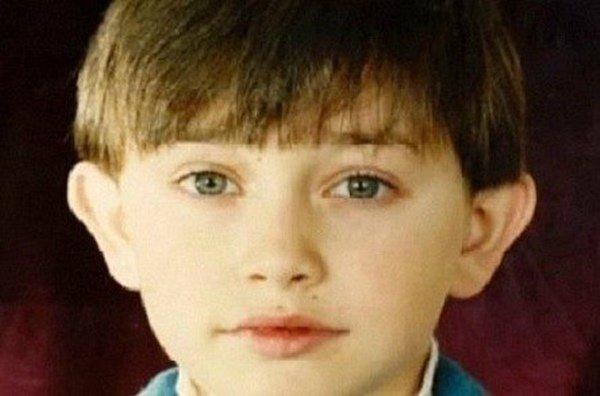 Павел Прилучный в детстве