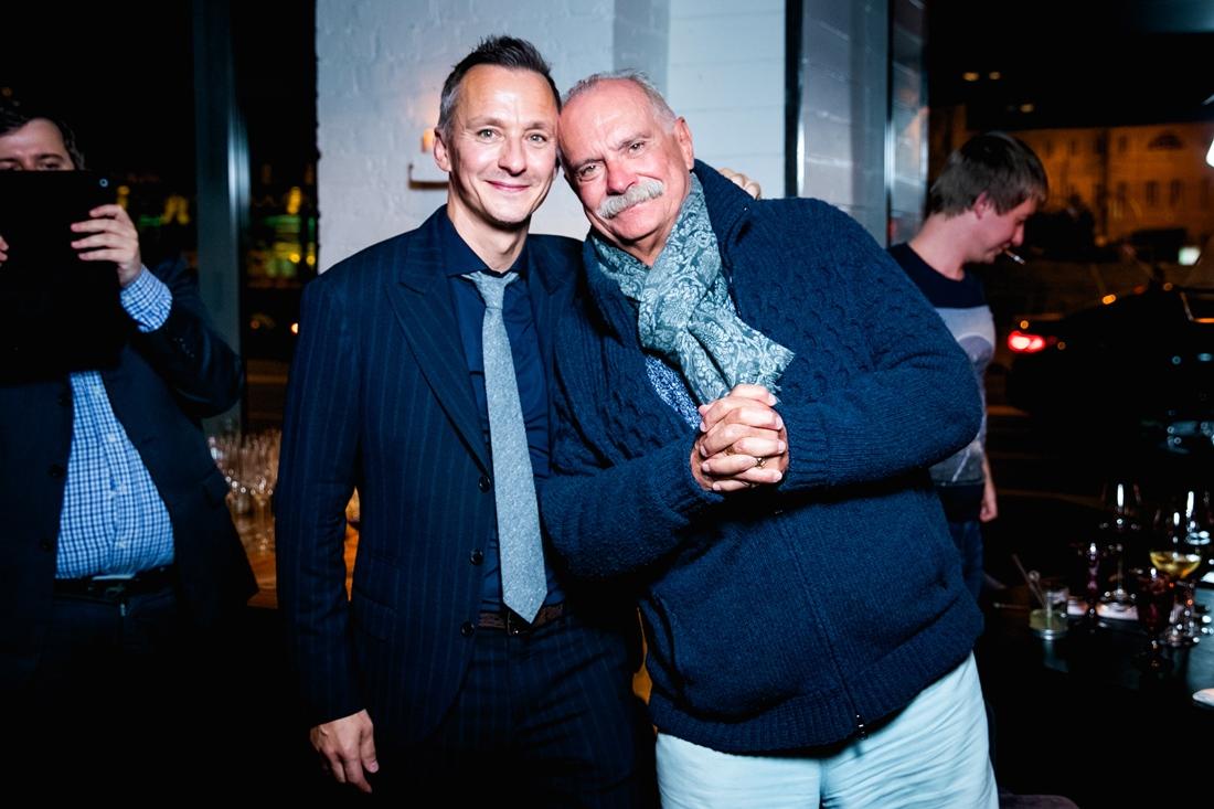 Степан с отцом Никитой Михалковым
