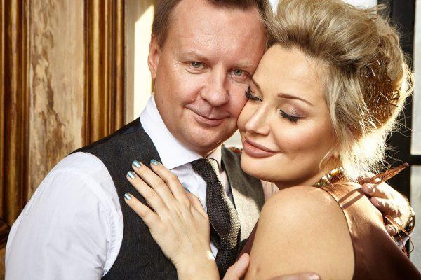 Мария Максакова с мужем Денисом