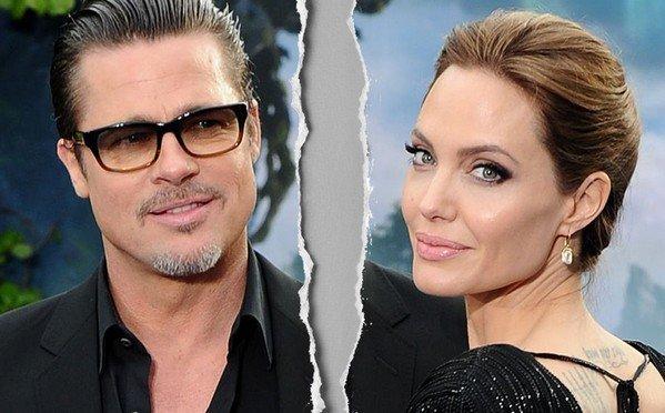 Год назад Анджелина Джоли и Брэд Питт развелись