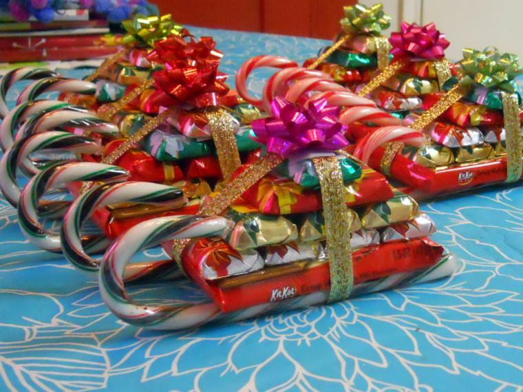Немного фантазии и самый обычный подарок превращается в новогодний