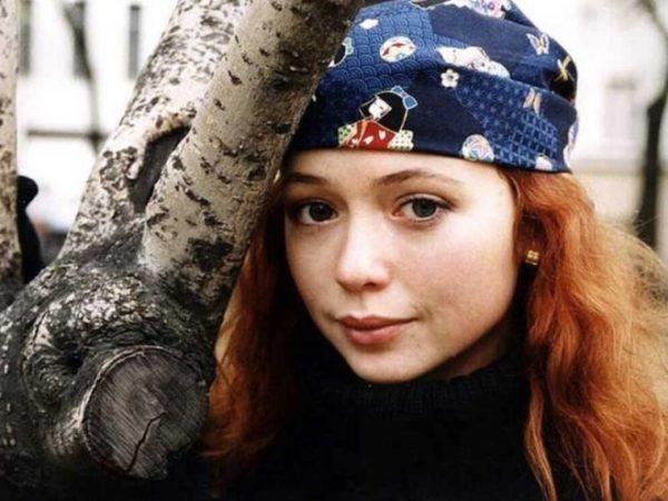 Елена Захарова в молодости