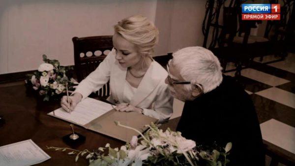 Фото со свадьбы Джигарханяна и его второй жены