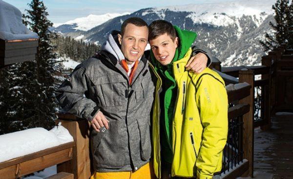 Игорь Верник со своим сыном