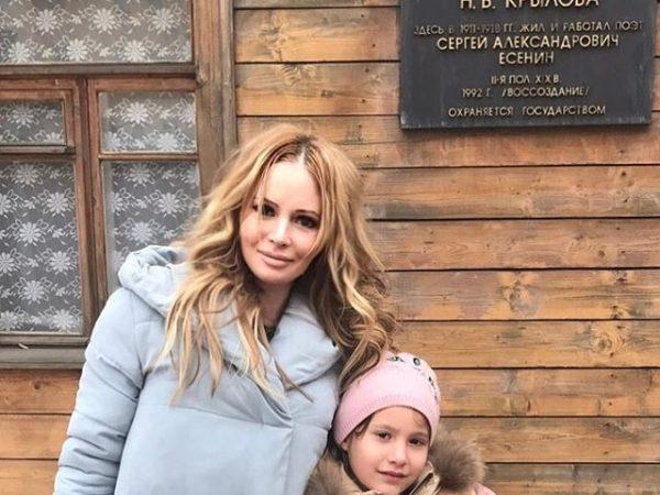 Дана Борисова со своей дочерью