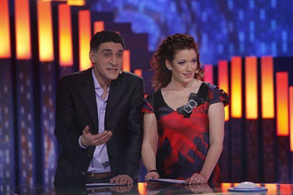Тигран Кеосаян вместе с первой женой на телепередачи