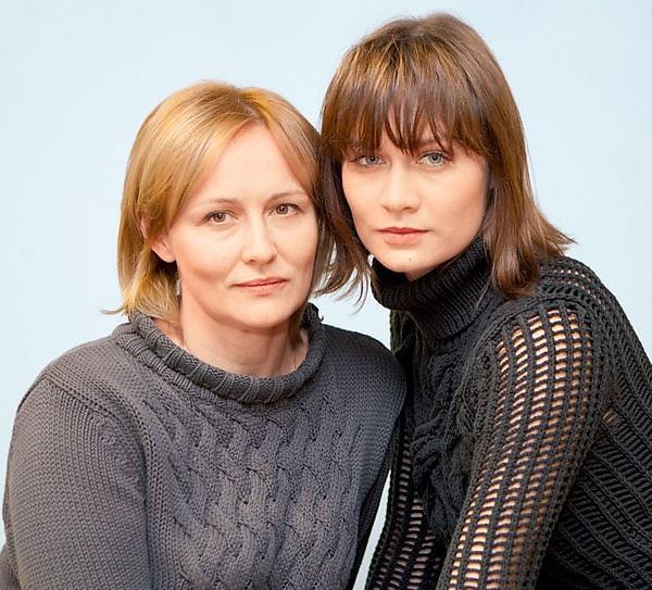 Мария Машкова с мамой