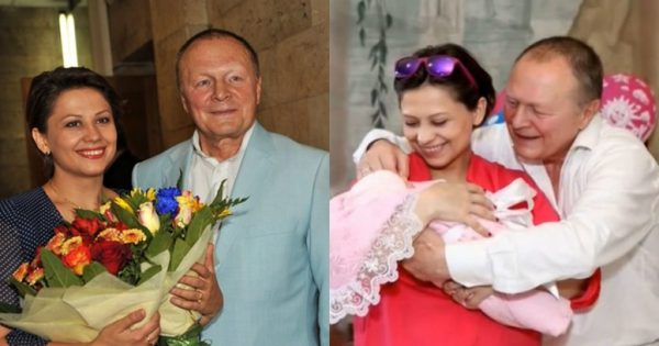 Инна Разумихина с мужем и дочькой