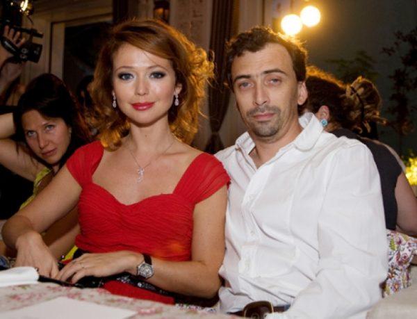 Захарова с первым мужем