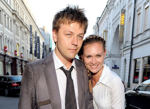 Актриса со своим вторым мужем