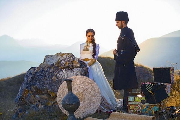 На свадьбе Стефано придерживался всех национальных традиций Северной Осетии