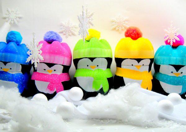Пингвины из бутылки