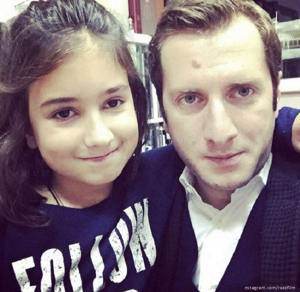 Резо Гигинеишвили с дочерью Марией