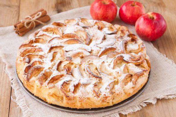 Аппетитный яблочный пирог