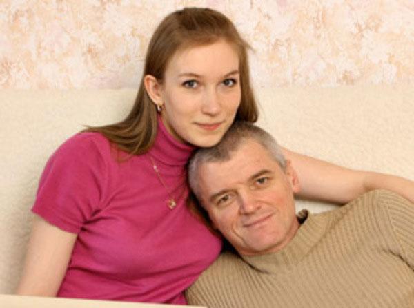 Сергей Плотников с женой Дариной