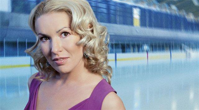 Ирина Лобачева красивая женщина и известная фигуристка