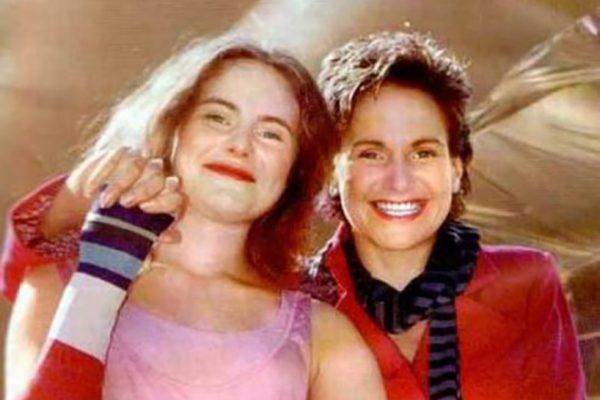 Актриса со своей дочерью