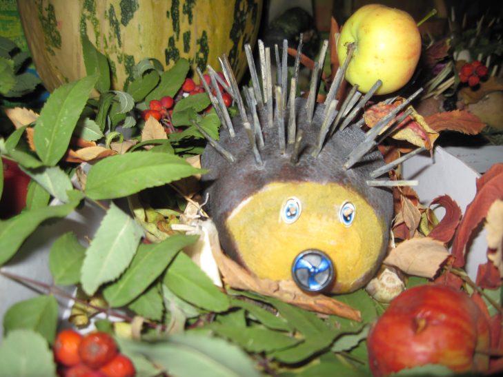 Поделки из овощей и фруктов своими руками на выставку в детский сад