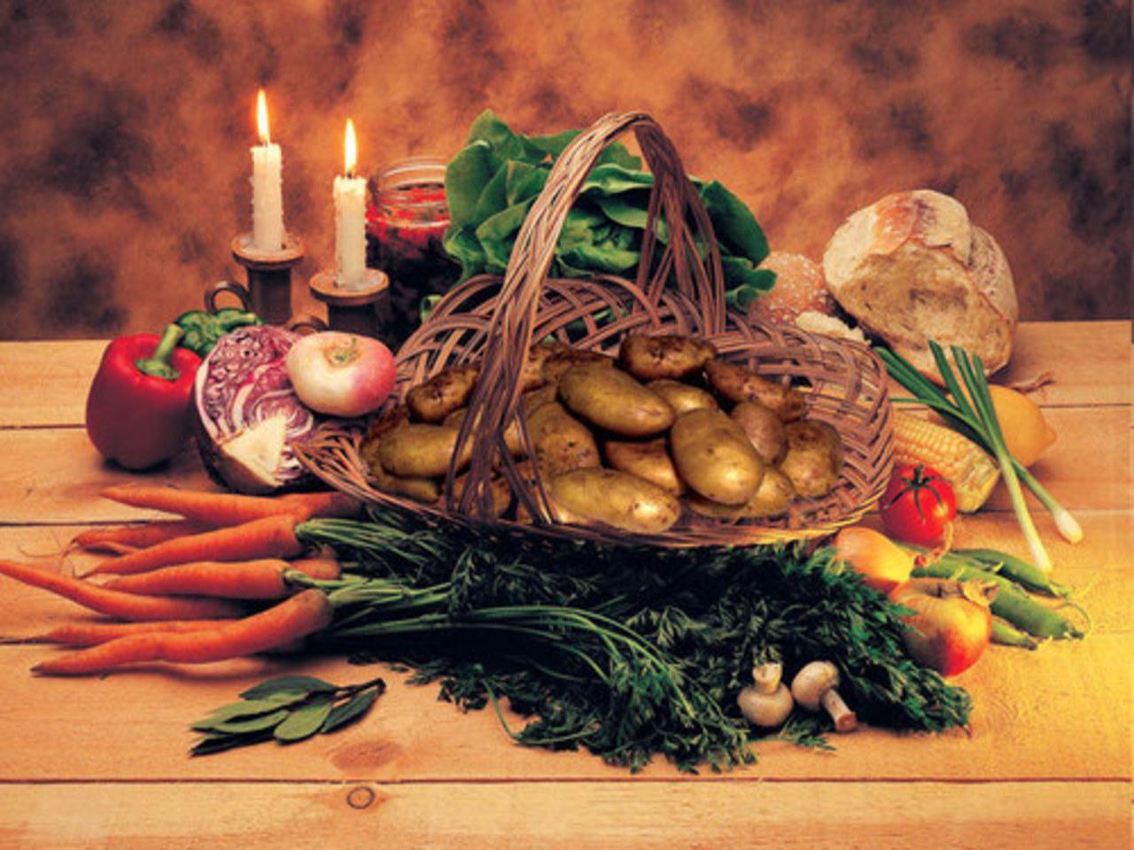 Богато разнообразие продуктов, которые можно употреблять в Рождественский пост