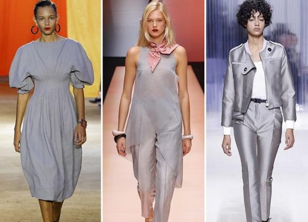 Модная одежда в серых тонах