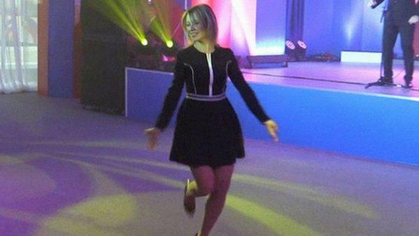 "Захарова танцует ""Калинку"" на саммите в Сочи"