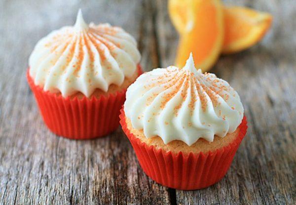 Ароматные апельсиновые маффины