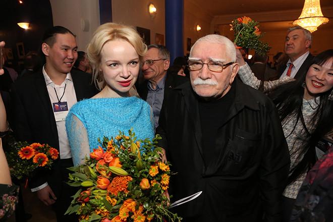 Армен Борисович со второй женой Виталиной