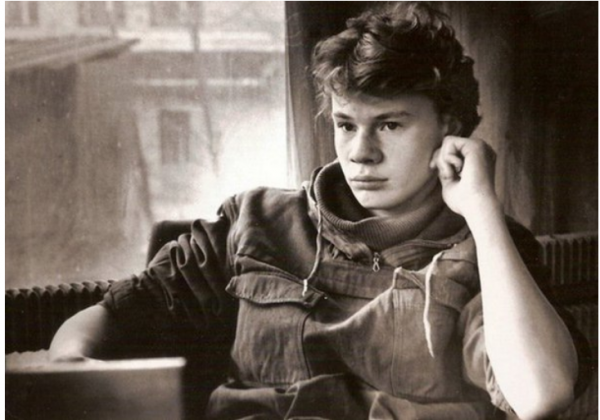 Влад Галкин в юности