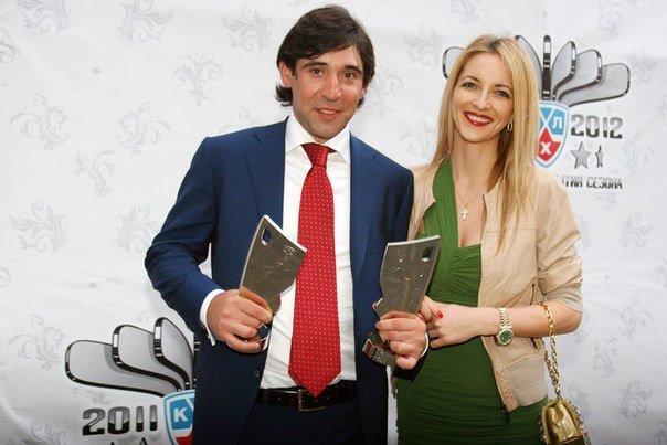 Данис Зарипов со своей второй супругой
