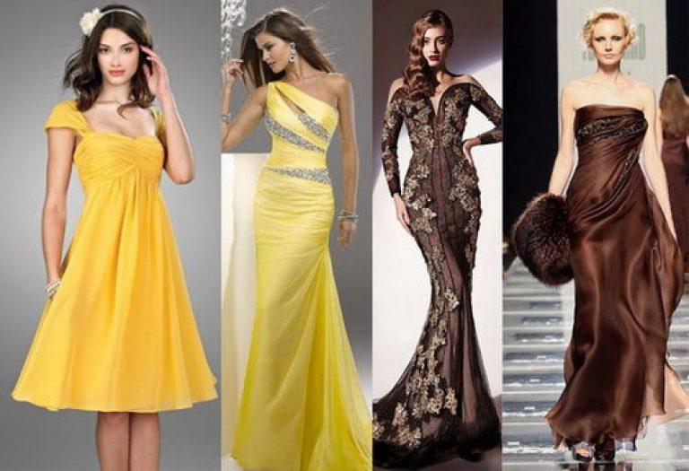 Выбираем вечернее платье с учетом своих особенностей, как фигуры, так и цветотипа