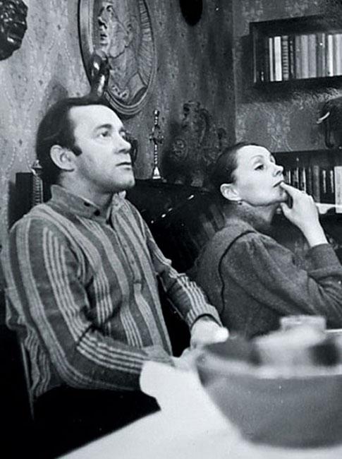 Мария Степнкова и Владимир Носик